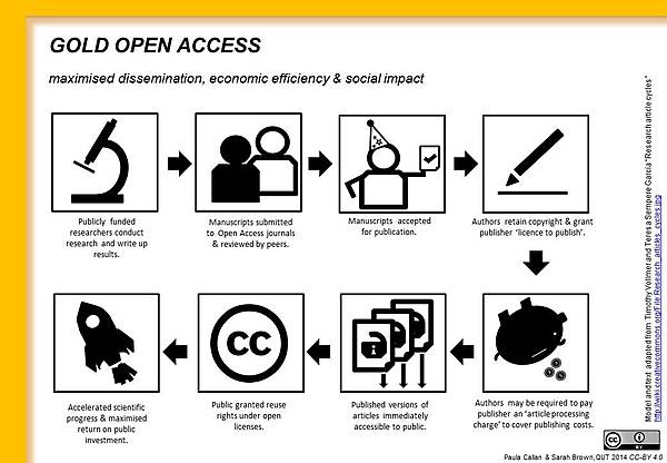 Bild Open Access Goldener Weg