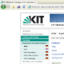 Screenshot Karlsruher Virtueller Katalog