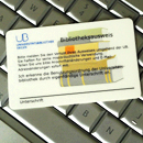 Picture: Library card