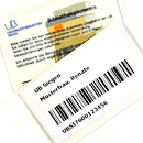 Picture: Library card UB Siegen