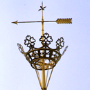 weather vane, St. Nicolai Church, Siegen
